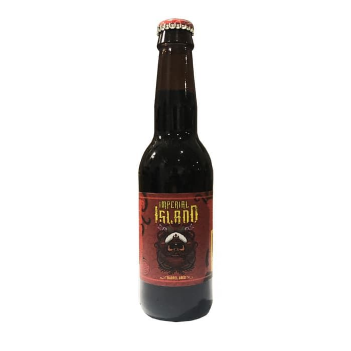 Island imperial rum stout barrel aged